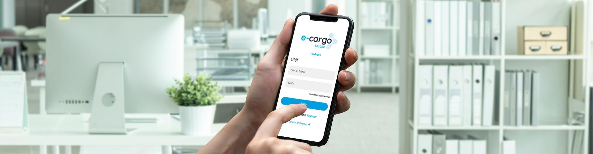 Imagem do post Praticidade para controle e entrega da sua carga, conheça o aplicativo e-cargo Mobile